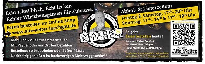 Link zu Mayer's Kitchen Online Shop